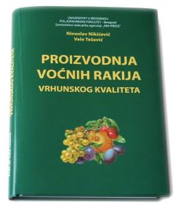 Knjiga Proizvodnja vocnih rakija-Nikicevic-Tesevic