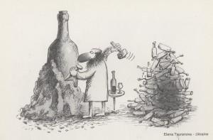 Vino_karikatura
