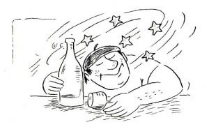 glavobolja i vino