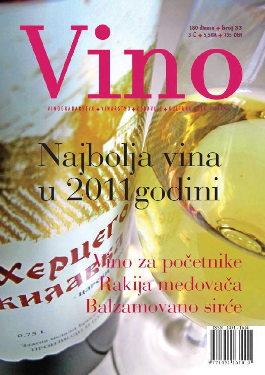 Časopis VINO br. 33