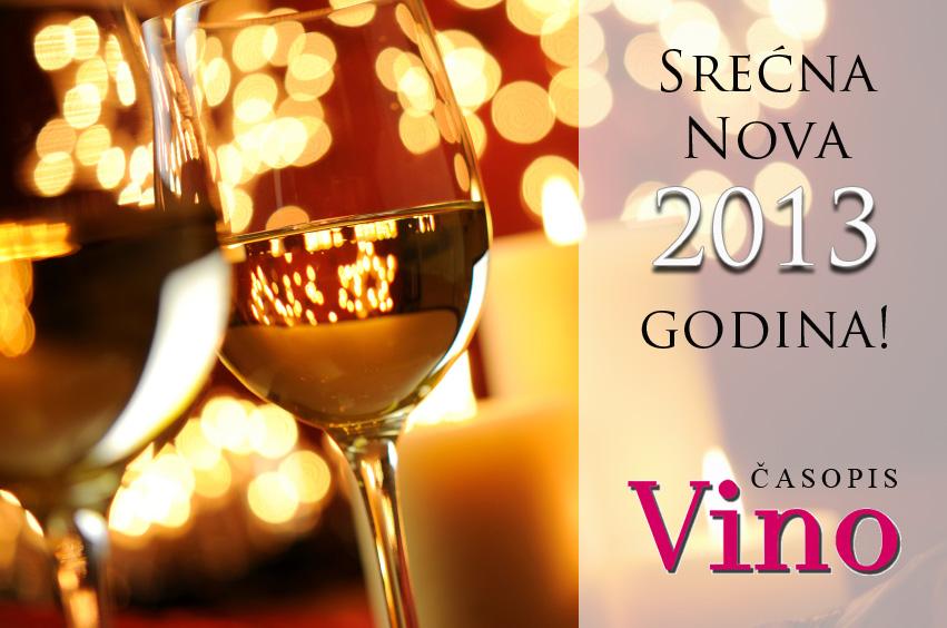 Nova godina 2013 Vino